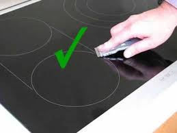 how to clean your electric or induction glass cooktop or hob avi
