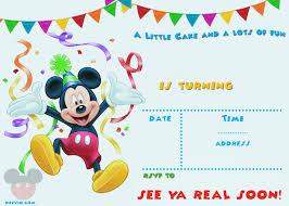 baby mickey mouse invitations birthday mickey mouse invitations template epic mickey mouse invitation