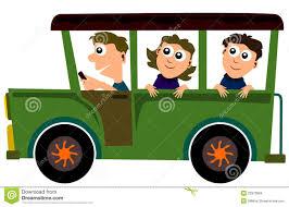 Jeep ride stock illustration. Illustration of jeep, female - 23973884