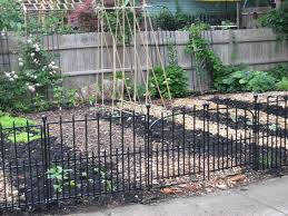 garden fence lowes. Lowes Garden Fencing Black Fence