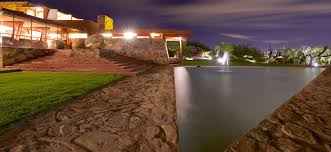 frank lloyd wright outdoor lighting. Shocking How To Celebrate Frank Lloyd Wright Us Th Birthday At Taliesin Of Outdoor Lighting Concept R
