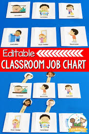 Pre K Job Chart Pictures Classroom Helpers Job Kit Pre K Pages