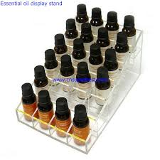 Essential Oil Display Stand Enchanting Countertop 32 Tire Transparent Acrylic Essential Oil Display Stand