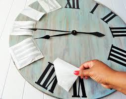 splendid large wall clock hand 1 second new