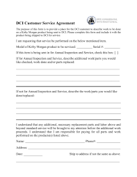 How Would You Describe Customer Service Dci Customer Service Agreement Final Dive Commercial