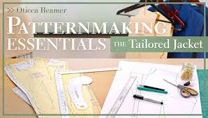 Pattern Making Classes New Patternmaking Essentials The Tailored Jacket Online Class Love To Sew