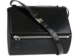 Givenchy Pandora Size Chart Givenchy Pandora Shoulder Bag Grained Medium Black