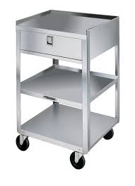 Mobile Kitchen Equipment Lakeside 356 Stainless Steel Mobile Equipment Stand Weight