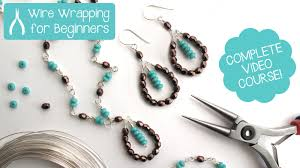 jewelry making wire wrapping for beginners class teaser promo you