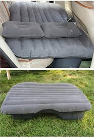 Backseat Inflatable Bed Back Seat Cover Car Air Mattress Travel Bed Inflatable Mattress