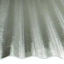 Corrugated Galvanized Steel Panel at Menards