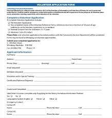 volunteer schedule template template instagram feed volunteer applications forms registration