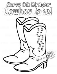 Small Picture Cowboy Boots Coloring Pages 01 Coloring Coloring Pages