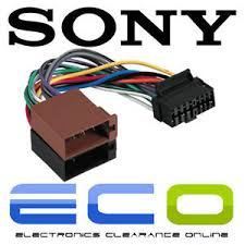 sony 16 pin car stereo wiring harness to iso sony car stereo power image is loading sony 16 pin car stereo wiring harness to