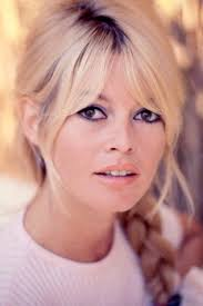 bridgette bardot in the you could rock this look now love her eye makeup pale lipstick and the soft hair style with the braid it s clic