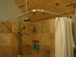 corner shower ideas curtain.  Shower Corner Shower Curtain Rods Image Of Rod Cover Ideas  Walmart With