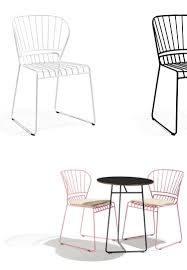 outdoor metal chair. Most Popular Outdoor Metal Chair Design/ Wire Frame With Seat Cushion