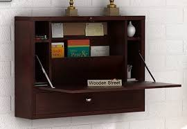 Study Table Online Wooden Foldable Study Table in India Wooden Street