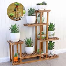 frequently bought together 5 tier fir wood plant stand decorative planter holder flower pot