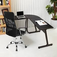 table desks office. GreenForest L-Shape Corner Computer Desk PC Laptop Table Workstation Home Office 3-Piece Desks