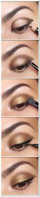 simple gold eye makeup tutorial here is a broken down eye makeup tutorial i