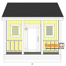 playhouse plans front view