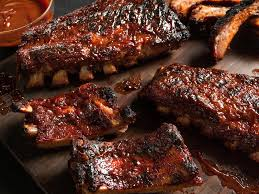 Rotisserie Baby Back Ribs With RedEye Barbecue Sauce  WebercomHow To Grill Country Style Ribs On A Gas Grill