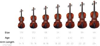How To Choose The Correct Violin Size Blog Hb School Of