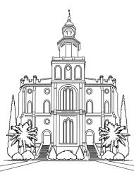 Small Picture Temple coloring page