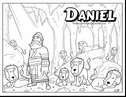 Daniel And The Lions Den Coloring Pages For Page Itgod Me Within ...