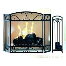 fireplace screen and glass doors screens or fireplace screen and glass doors