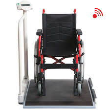 wheel chair scale. Next Prev. Overview; Specifications; Accessories; Documents; Enquire. Seca 676 Wireless Wheelchair Scale With Wheel Chair
