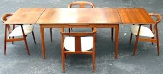 teak dining tables and chairs mid century modern dining room chairs danish modern teak dining table