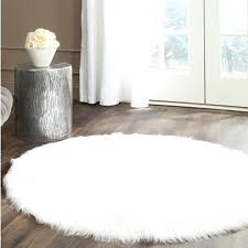 round faux fur rug round real white faux sheepskin rug fur blanket decorative blankets rugs and round faux fur rug