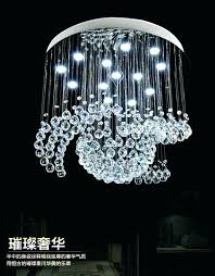 transitional crystal chandelier