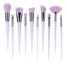 unicorn brush sets. ammiy unicorn makeup brushes set fantasy tools foundation eyeshadow kit with case brush sets