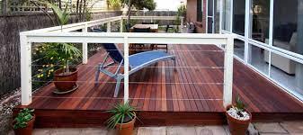 build a timber deck over concrete