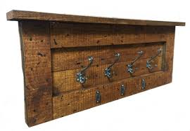 Rustic Coat Rack Best Bespoke Hand Made Rustic Coat Rack Style A Atlantic Timber