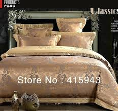 gold bedding set red duvet cover queen king bedspreads luxury silk bedding set duvet cover super