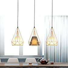 rose gold lamp modern simplicity restaurant light industrial wind diamond lamp personality bar rose gold lamp rose gold lamp