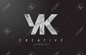 有限会社yk ゼブラ線テクスチャ デザイン ベクトル イラストとロゴを手紙します