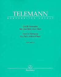 Telemann Noten Stretta Noten Shop