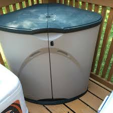 outdoor corner storage best storage design 2017 outdoor kitchen corner cabinet