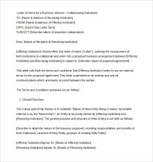 Letter Of Intent Template Word Beautiful Letters Sample Letter Of