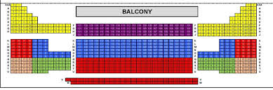 Seating Chart Evansville Philharmonic Orchestra