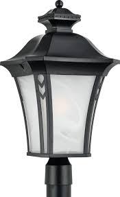 quoizel norfolk transitional outdoor post lantern light