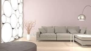 interior animation of modern living room stock footage