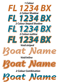 Boat Lettering Examples 425