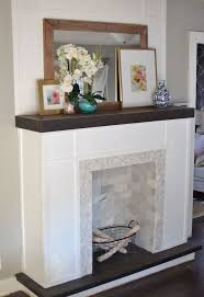Heart Break Kids  Blog  My Very Own DIY Faux FireplaceHow To Build A Faux Fireplace