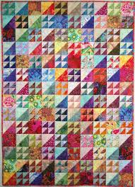 Exuberant Color : Quilts made with triangles & Quilts made with triangles Adamdwight.com